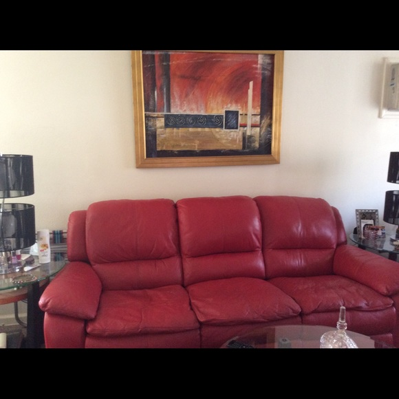 Other - Leather Sofa and Chair/ picture